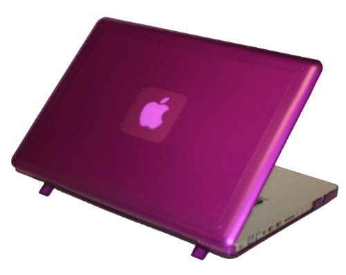 iPearl mCover Hard Shell Case for 15&quot; Model A1286 Aluminum Unibody MacBook Pro (Black keys, 15.4-inch diagonal regular display) - PURPLE