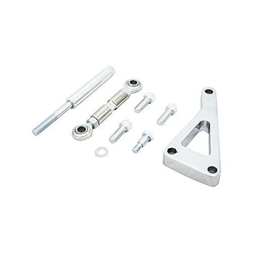Top Street Performance JM9101P Polished Aluminum Alternator Bracket Kit (Chrome Alternators compare prices)