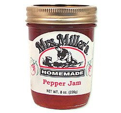 Mrs Millers Pepper Jam 8 Oz from Mrs. Miller's