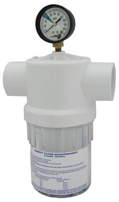Filter, Energy W/Gauge (# 2888) ac2010 02 polycarbonate air source treatment pneumatic filter regulator w gauge