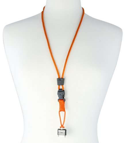 Orange iCat Neck it phone lanyard  detachable