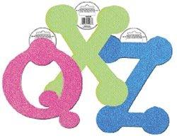 Fibre Craft Foam Glitter Letters 5