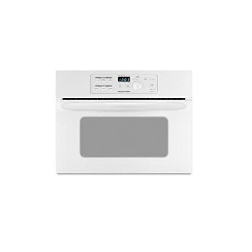 24 built in microwave oven white kitchenaid kbms1454rwh for Built in microwave oven 24 inch