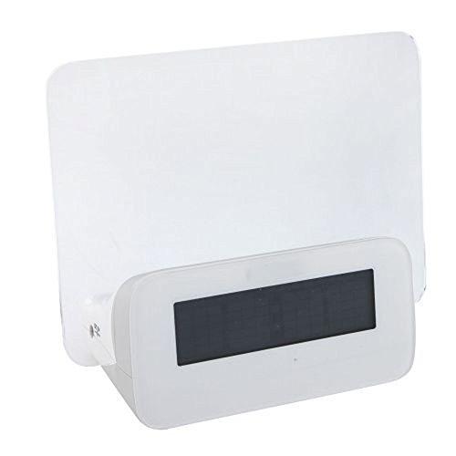 Amaranteen - Blue Led Fluorescent Message Board Digital Alarm Clock Hub Calendar