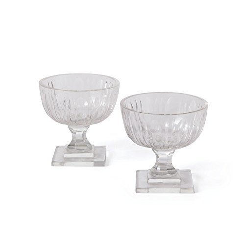 Go Home 20342 Pair of Styles Cups Candle Holder, 3.5 in.
