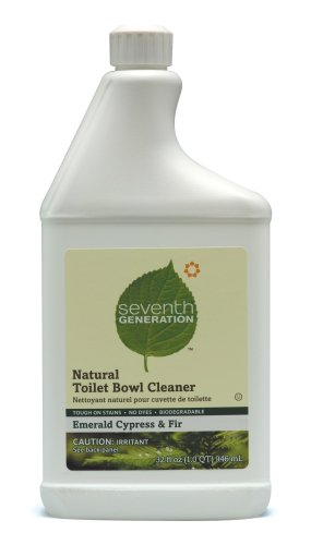 Seventh Generation Toilet Bowl Cleaner, 32-Ounces Bottle (Pack of 8)