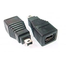 ChenYang 9 Pin Female FireWire ilink to 4 Pin Male IEEE 1394 1394b A-B 800 to 400 Adapter