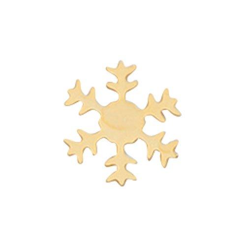 リトルプリティー スノーフレーク 4S ゴールド 50個 LPー6001G