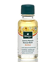 Kneipp Arnica Joint & Muscle Travel Size Bath Oil, .67 fl. oz.