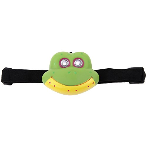 Animal Shaped LED Headlamp for Kids by ARAD (Frog) (W202 Headlights compare prices)