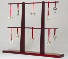Display stand rack tree holder mahogany ornament hanging stands