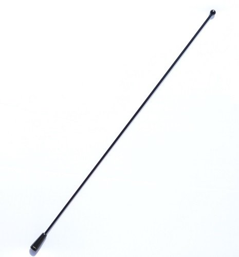 AntennaX Black Billet (14-inch) Antenna for (07 thru 16) Jeep Wrangler JK