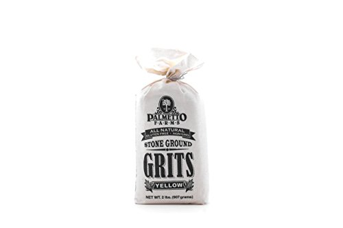 Palmetto Farms Yellow Stone Ground Grits 2 LB - Non-GMO - Just All Natural Corn, No Additives - Naturally Gluten Free, Produced in a Wheat free facility - Grinding Grits Since 1934 (Corn Grits compare prices)