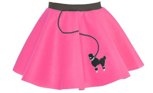 hip hop 50s shop toddler poodle skirt hot pink apparel