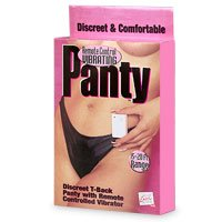 California Exotic Remote Control Vibrating Panty