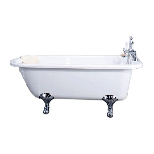 Traditional Single Ended Roll Top Freestanding Bath