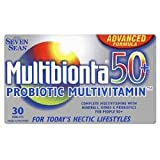 Multibion Probiotic Multivitamins 50+ 30 Tablets - CLF-MUL-8575