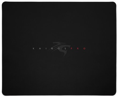 Sentey® Kairos Pro Mousepad Pvc Surface (Hard Plastic) 5 Mm Thick Gs-2800 Gaming Surface / 5 Mm Thick / Edge-Style Standard / Natural Eco Rubber / Medium Friction Level