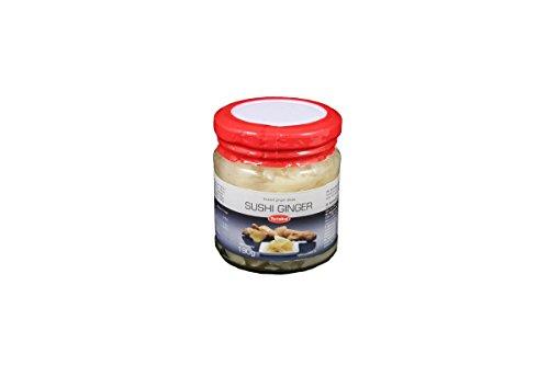 Yutaka Sushi Ginger Jar - Pickled White Sushi Ginger 190g (White Pickled Ginger compare prices)