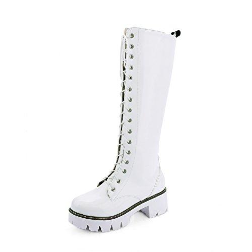 balamasa-girls-square-heels-platform-lace-up-round-toe-white-imitated-leather-boots-1-uk