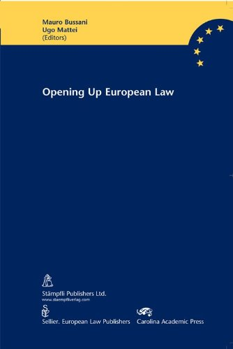 Image for publication on Opening Up European Law: The Common Core Project towards Eastern and South Eastern Europe