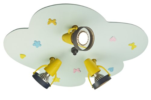 Niermann Standby Ceiling Lamp, Light Blue