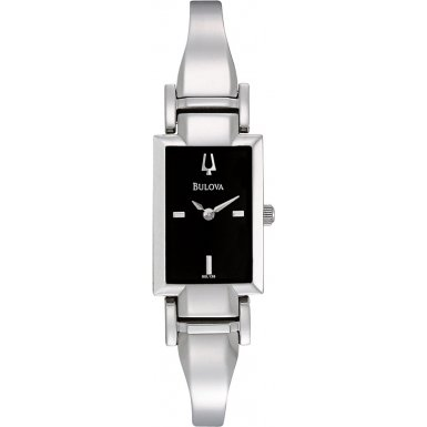 Bulova 96L138 Ladies Dress Silver Watch
