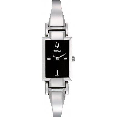 Bulova 96L138 Ladies Dress Silver Watch
