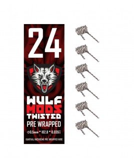 WULF MODS SUB OHM PRE WRAPPED BRAIDED KANTHAL COILS 6 PACK (Coils Sub Ohm compare prices)