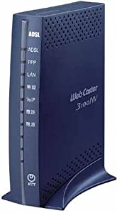 NTT東日本 NTT東日本 Web Caster 3100NV 47Mモデム内蔵ADSLルーター(IP電話対応) Web Caster 3100NV NTT EAST