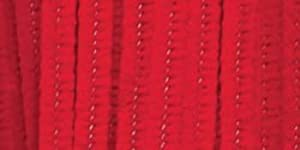 Chenille Stems 6mm 12-Inch, 100/Pkg, Red