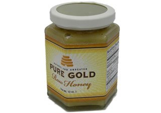 Pure Gold Raw Honey