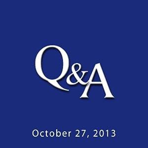 C-SPAN Q & A: Jonathan Goodman Levitt | [Brian Lamb]
