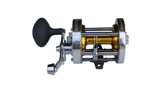 Ming Yang Baitcasting Fishing Reel CL80-A, Silver