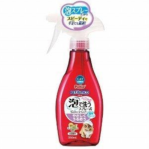 ペティオ (Petio) ペッツスマイルド 泡で洗うリンスインシャンプー やさしくうるおう 全猫種用 350ML: ペット用品