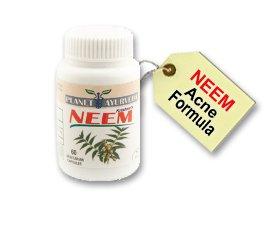 ACNE PILLS - Neem Capsules - 60 Acne Medication