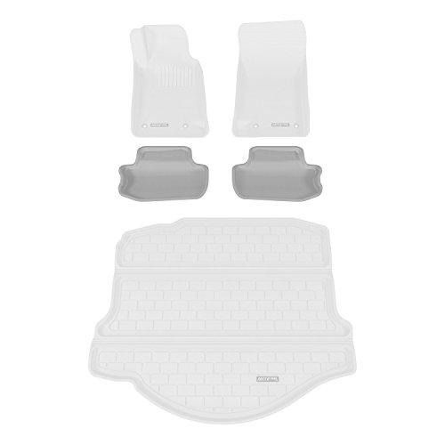 Aries CH01721501 Gray Rear 3D Floor Liner - 2 Piece (2014 Chevy Camaro Gray Floor Mats compare prices)