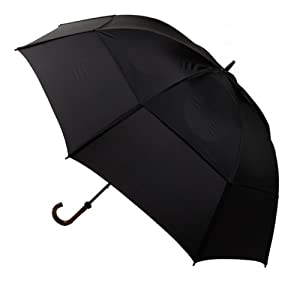 "GustBuster Doorman 62"" Umbrella (Black)"