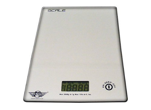 My Weigh 1Scale Glass Platform Digital Kitchen Scale by My Weigh