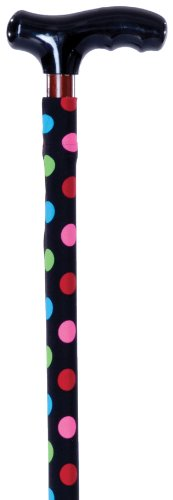 Cane Expressions Removable Decorative Cane Sleeves, Multidot