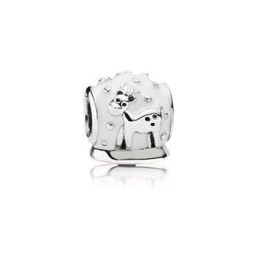 Pandora 791228en12 Snow Globe Charm