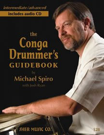 The Conga Drummer's Guidebook , plus CD [Paperback] by Michael Spiro PDF