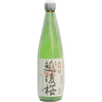 越後桜酒造 越後桜 大吟醸 瓶 720ml