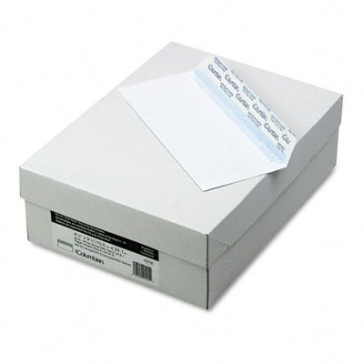 White business envelope with a 24-lb. paper stock features a Grip-Seal