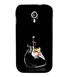 EPICCASE Awesome Guitar Mobile Back Case Cover For Micromax Canvas 2 A110 (Designer Case)