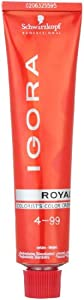 Schwarzkopf Professional Igora Royal Hair Color - 4-99 Medium Brown Violet Extra