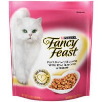 Detail image Fancy Feast Gourmet Gold Filet Mignon Flavor With Seafood and Shrimp Dry Cat Food (16-oz pouch)
