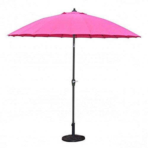 Sonnenschirm-24-Streben-pink-270-cm-Alu-Fiberglas-Gartenschirm-Kurbelschirm-asiatisch