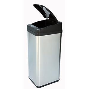 iTouchless 大容量不锈钢垃圾桶