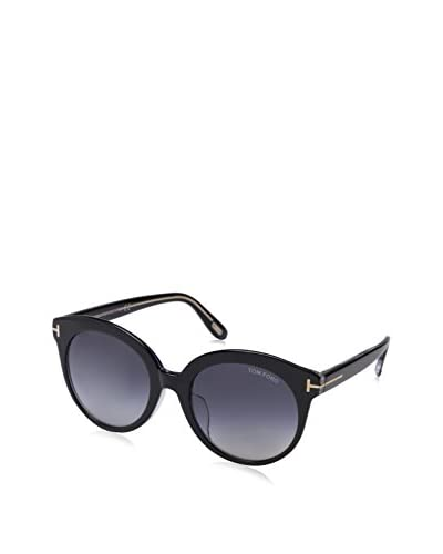 Tom Ford Women's FT0429 Sunglasses, Black/Crystal